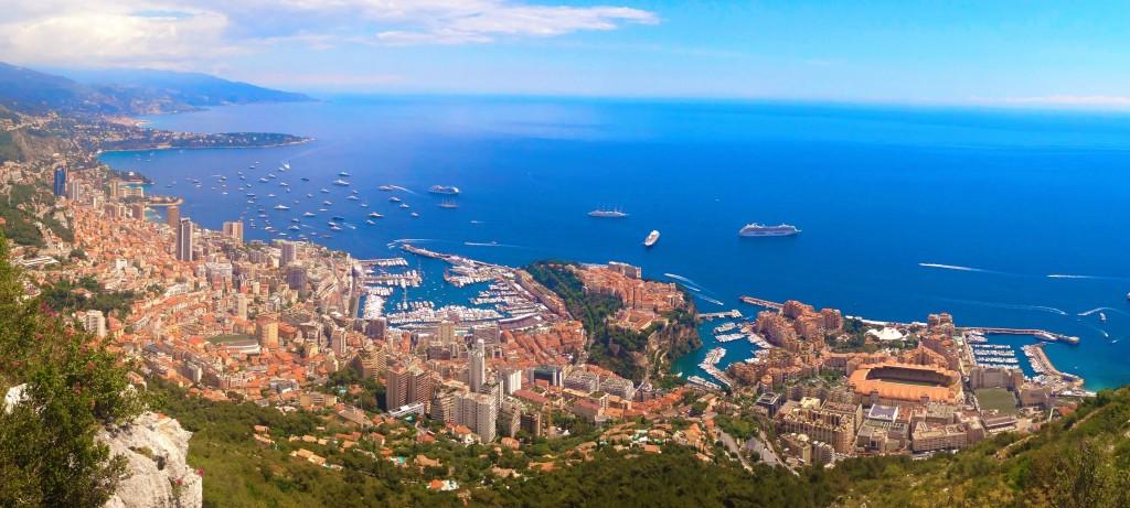 Randonnée Tête de chien - Monaco