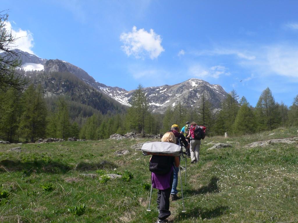 Randonnée dans la vallée des Merveilles au départ des Mesches dans la vallée de la Roya