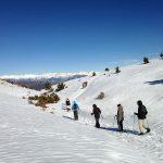 Randonnée en raquettes à neige à Gréolières
