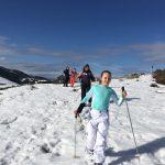 Randonnée raquettes à neige à Gréolieres