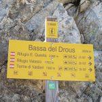 Baisse de Druos au départ d'Isola 2000