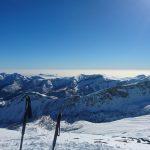 Ski de randonnée au Mont Sainte Marie