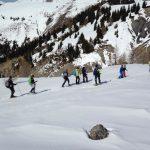 Balade en raquettes à neige au Mt Brussière