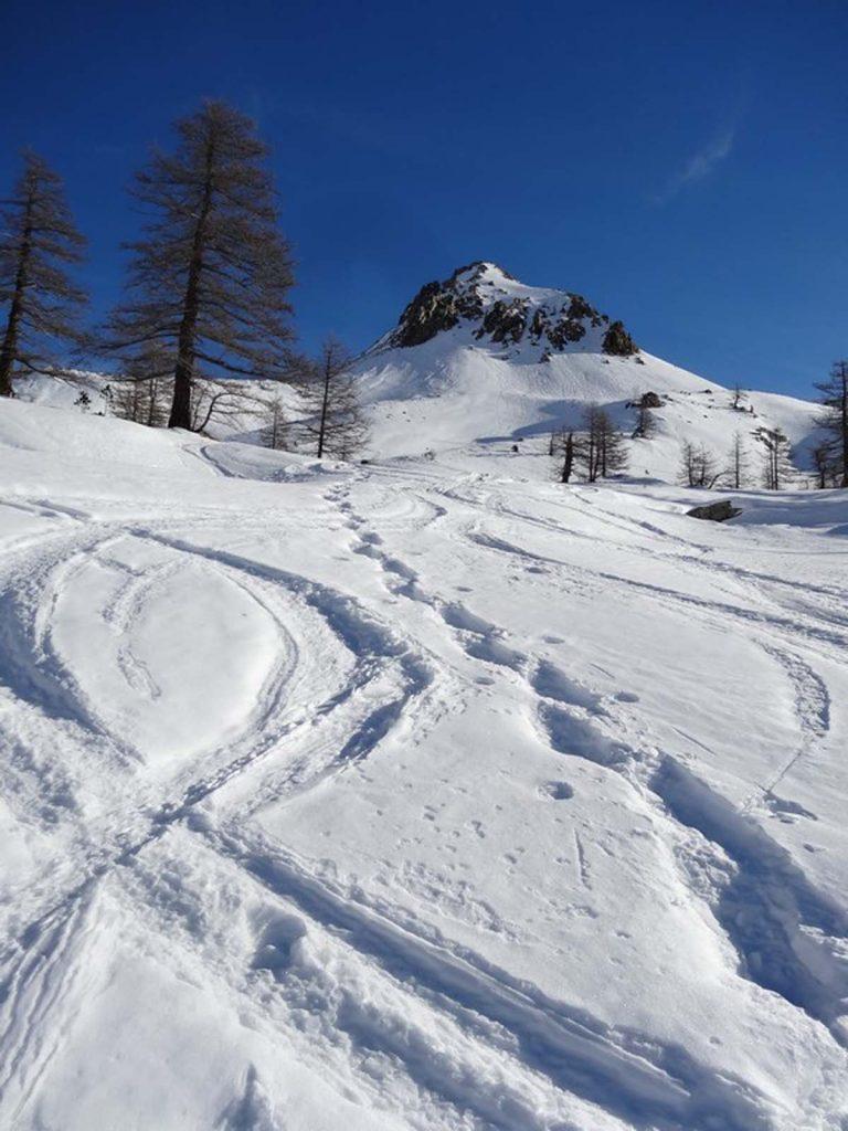 Randonnée en raquettes à neige aux Bresses | Photo@François Otto-bruc