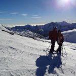 Randonnée en raquettes à neige aux Bresses