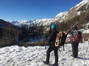 Raquettes à neige Haut Var jeudi 16 mars (1)