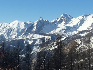 Raquettes à neige Haut Var jeudi 16 mars (2)