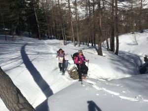 Raquettes à neige Haut Var jeudi 16 mars (5)