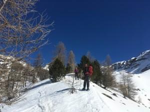 Raquettes à neige Haut Var jeudi 16 mars (9)