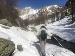 rando raquettes à neige 12 mars (1)