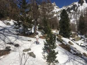 rando raquettes à neige 12 mars (10)